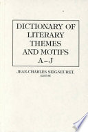 Dictionary of Literary Themes and Motifs Book