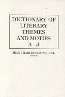 Dictionary of Literary Themes and Motifs