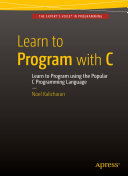 Pdf Learn to Program with C Telecharger