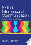 Skilled Interpersonal Communication Book PDF