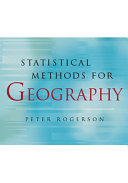 Statistical Methods For Geography Book PDF