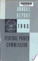 Annual Report   Federal Power Commission
