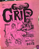 Grip, a weekly journal for British boys