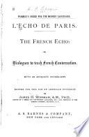 L'echo de Paris: The French echo
