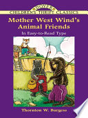 Mother West Wind s Animal Friends