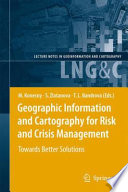 Geographic Information And Cartography For Risk And Crisis Management Book PDF