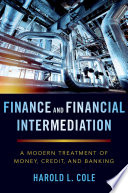 Finance and Financial Intermediation