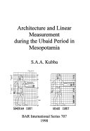 Architecture and linear measurement during the Ubaid period in Mesopotamia