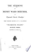 The Sermons Of Henry Ward Beecher