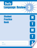 Daily Language Review Grade 3 Student Book