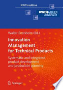 Innovation Management for Technical Products