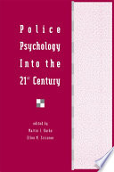 Police Psychology Into the 21st Century Book