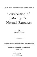 Conservation of Michigan s Natural Resources