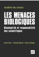 Les menaces biologiques Pdf/ePub eBook