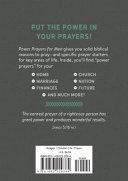 Power Prayers for Men Book PDF