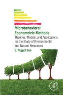 Microbehavioral Econometric Methods