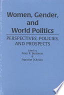 Women, Gender, and World Politics