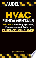 Audel HVAC Fundamentals  Volume 1 Book