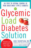 The Glycemic Load Diabetes Solution Book