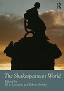The Shakespearean World Pdf/ePub eBook
