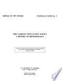 The Current Population Survey Book PDF