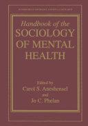 Handbook of the Sociology of Mental Health Pdf/ePub eBook