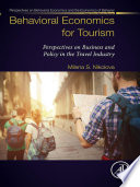 Behavioral Economics for Tourism