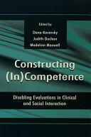 Constructing (in)competence Pdf/ePub eBook