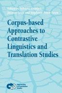 Corpus-based Approaches to Contrastive Linguistics and Translation Studies [Pdf/ePub] eBook