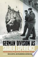 German Division As Shared Experience