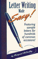 Letter Writing Made Easy  Book