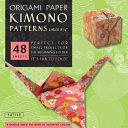 Origami Paper   Kimono Patterns   Large 8 1 4    48 Sheets