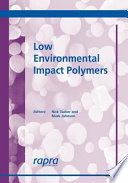 Low Environmental Impact Polymers