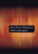Critical Issues in Anti-racist Research Methodologies
