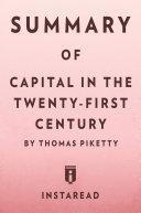 Capital in the Twenty-First Century [Pdf/ePub] eBook
