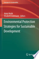 Environmental Protection Strategies for Sustainable Development Book