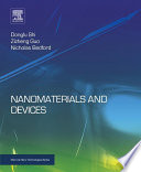 Nanomaterials And Devices Book PDF