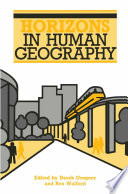 Horizons in Human Geography Book