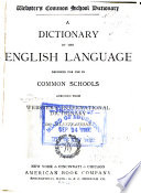 A Dictionary of the English Language Book