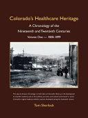 Colorado s Healthcare Heritage
