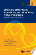 Ordinary Differential Equations And Boundary Value Problems - Volume Ii: Boundary Value Problems