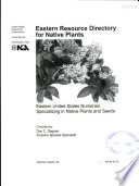 Eastern Resource Directory for Native Plants