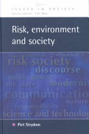 Risk  Environment  and Society