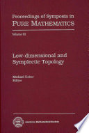 Low dimensional and Symplectic Topology Book