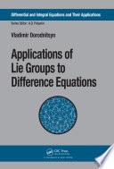 Applications of Lie Groups to Difference Equations