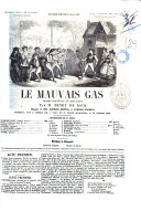 Le mauvais gas drame-vaudeville en cinq actes par M. Henry de Kock