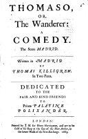 Thomaso  or  the wanderer