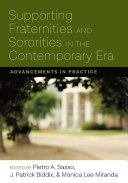 Pdf Supporting Fraternities and Sororities in the Contemporary Era