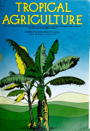 Tropical Agriculture Book PDF