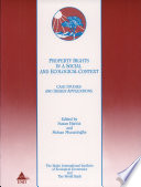 Property Rights In A Social And Ecological Context Book PDF